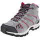 Columbia North Plains Mid Waterproof Shoes Children grey/pink